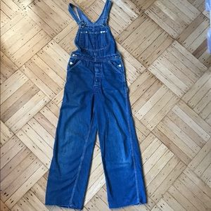 Rare vintage LEE denim overalls